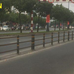 Hàng rào giao thông barrie